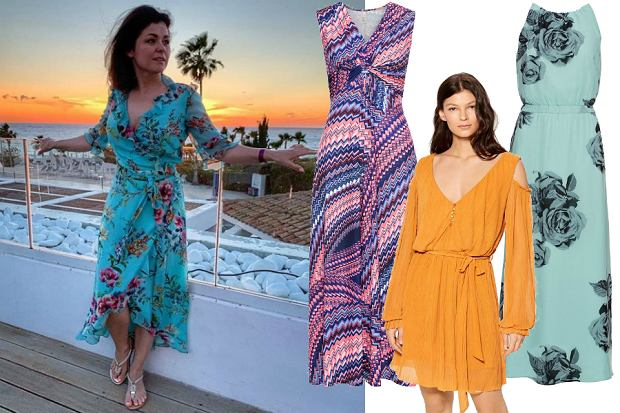 sukienki na wakacje
