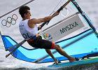 Rio 2016. Piotr Myszka umocnił się na 3. miejscu po kolejnym dniu regat klasy RS:X. Medal coraz bliżej!