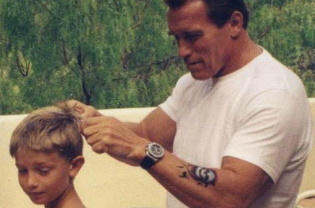 Arnold Schwarzenegger, Patrick Schwarzenegger