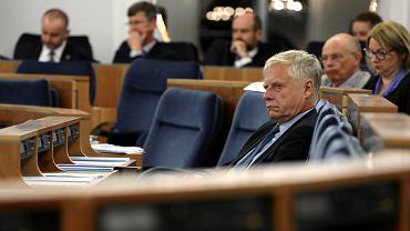 64 Posiedzenie Senatu - prace nad prezydenckim projektem referendum konstytucyjnego. Warszawa, 25 lipca 2018