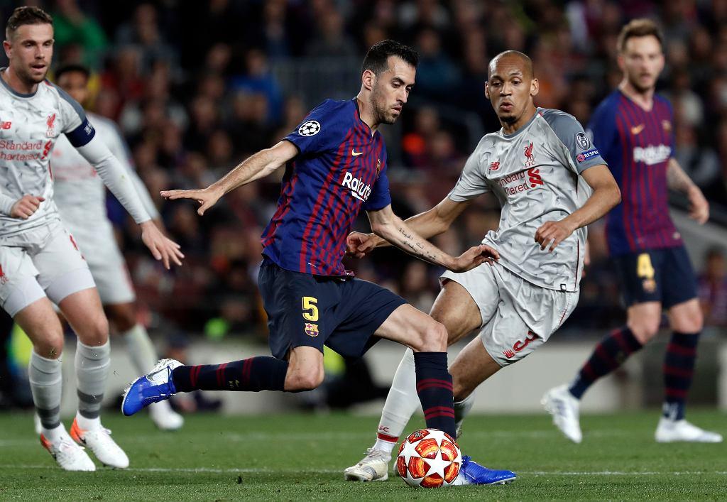 Sergio Busquets przeprasza kibiców po klęsce z Liverpoolem
