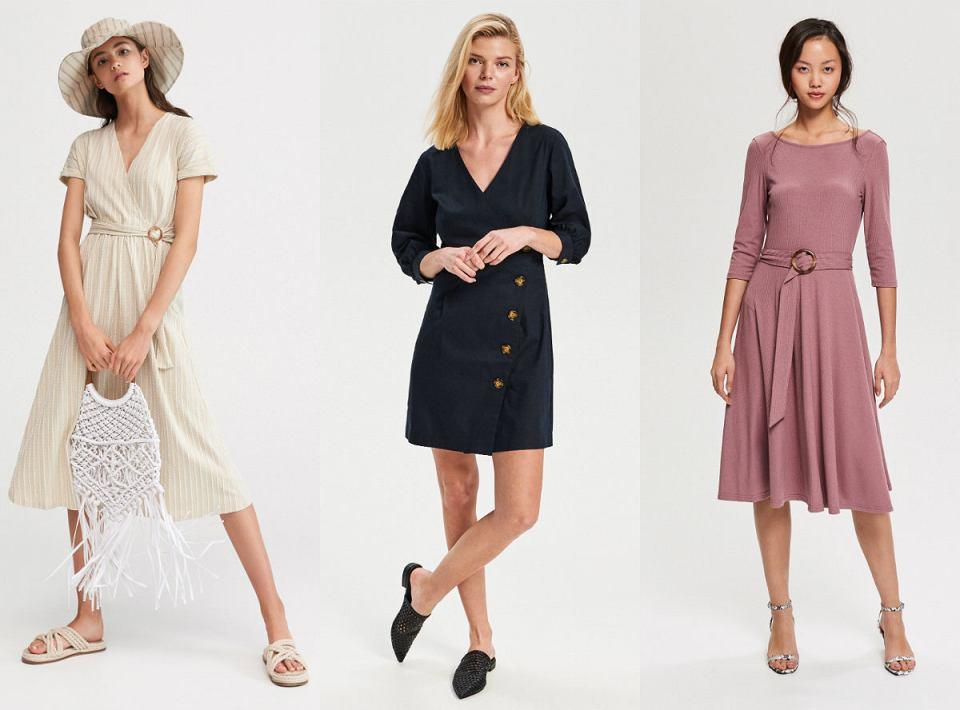 Trenczowe sukienki w letnim, wakacyjnym wydaniu