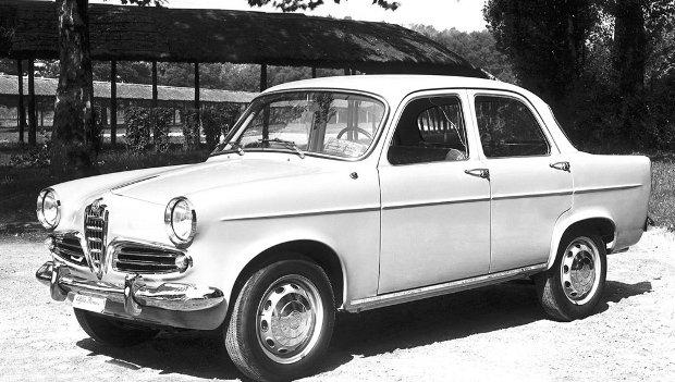 1959 Alfa Romeo Giulietta Berlina