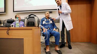 66-letni Mieczysław Koral z Rudy Śląskiej, pierwszy w Polsce pacjent, któremu wszczepiono całkowicie sztuczne serce