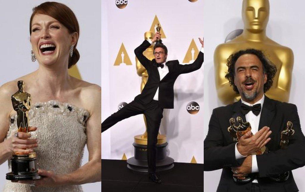 Julianne Moore, Paweł Pawlikowski i Alejandro González Inárritu
