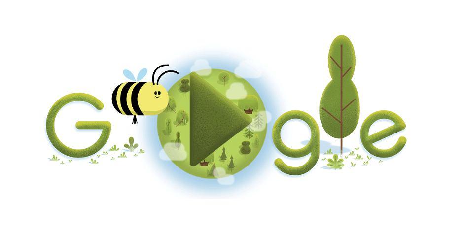 Google Doodles na 50. Dzień Ziemi