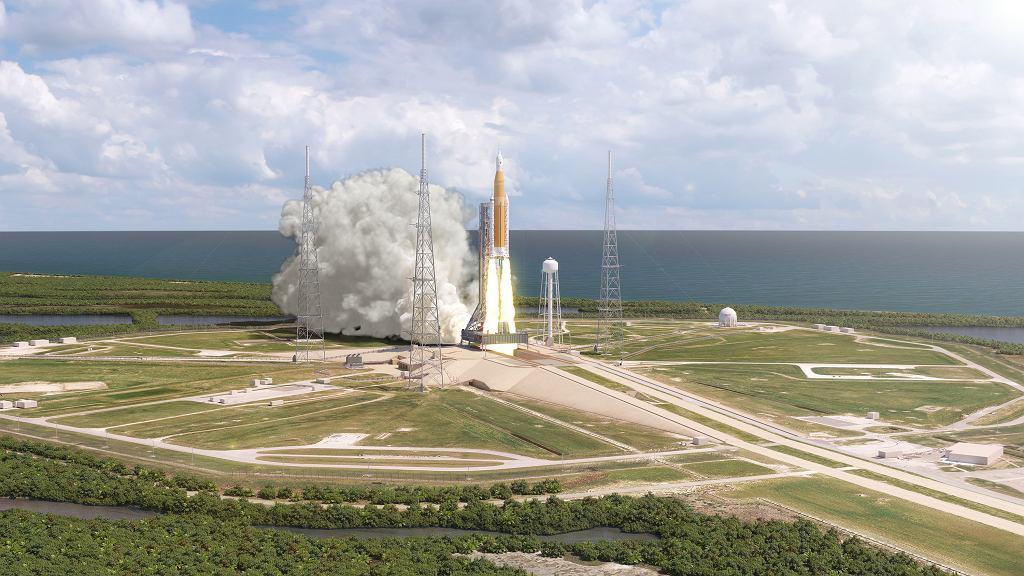 NASA Space Launch System (SLS) jeszcze w 2020 roku