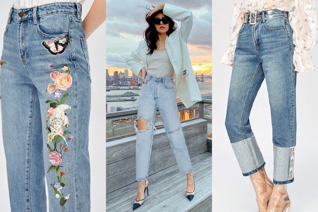 jeansy na wiosnę