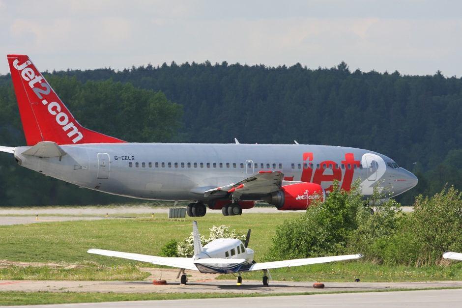 Samolot linii Jet 2 - zdjęcie ilustracyjne
