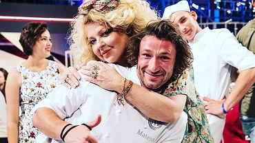 Mateusz Zielona i Magda Gessler, 'MasterChef'