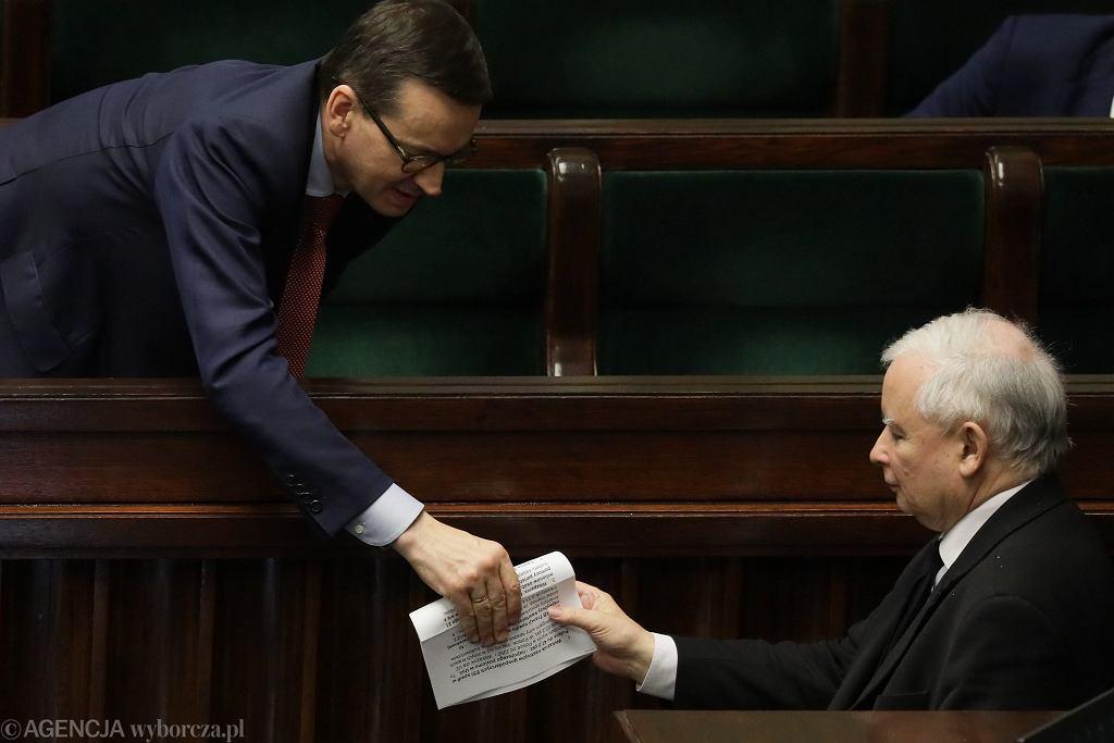 Mateusz Morawiecki, Jarosław Kaczyński