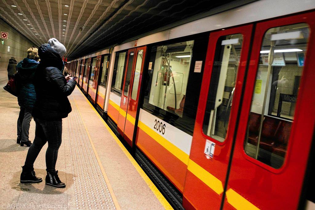 Metro w Warszawie, stacja Młociny