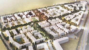Tak ma wyglądać osiedle mieszkań plus na Zakrzowie we Wrocławiu. Projekt biura BE DDJM Architekci wygrał konkurs zorganizowany przez PFR Nieruchomości i Polski Holding Nieruchomości