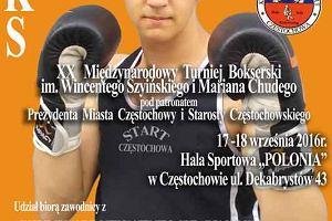 W weekend bokserski Memoriał Wincentego Szyińskiego i Mariana Chudego