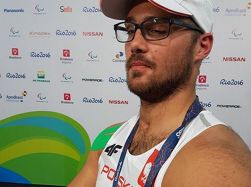 Maciej Sochal, złoty medalista igrzysk paraolimpijskich