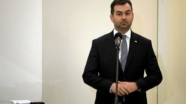 Rzecznik prasowy Prezydenta RP Blazej Spychalski