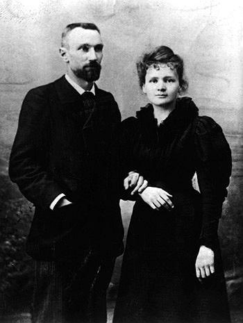 Fotografia ślubna Marie Curie