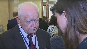 Prof. Adam Strzembosz i Ewa Stankiewicz