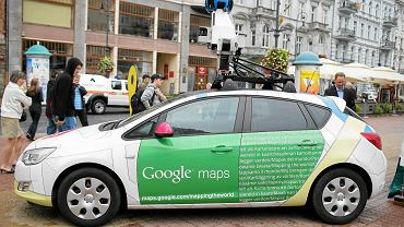 Samochód Map Google