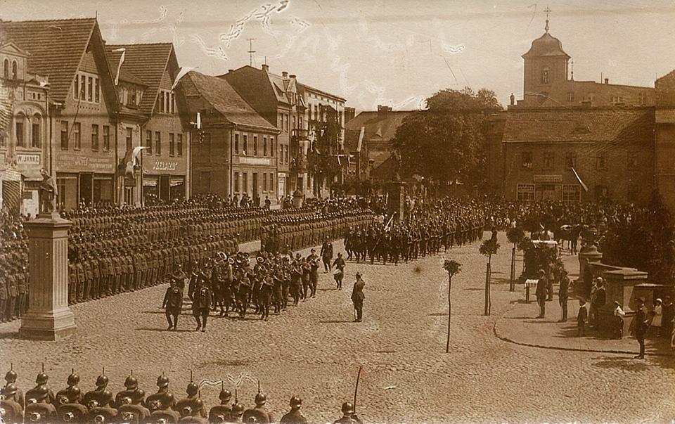 Gen. Edward Rydz-Śmigły w Pleszewie