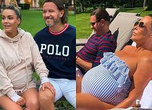 Małgorzata Rozenek czeka na poród w luksusowych warunkach