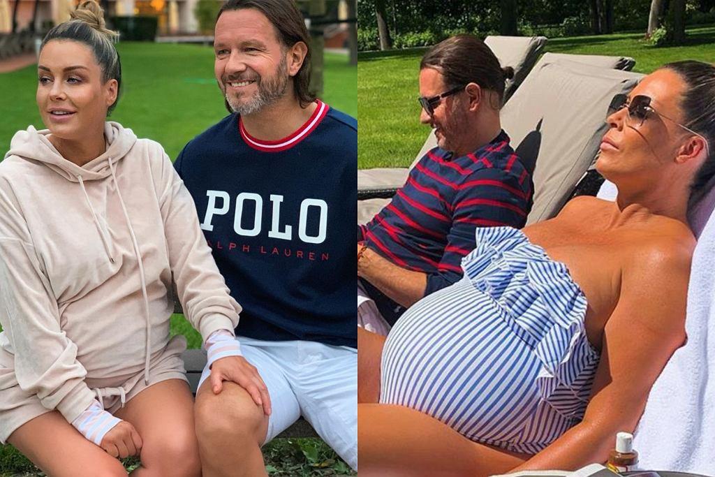 Małgorzata Rozenek i Radosław Majdan czekają na poród