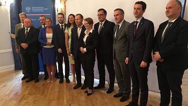 Konferencja prasowa w sprawie inwestycji belgijskiej firmy Umicore