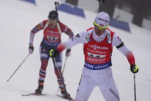 MŚ w biathlonie: Polska na 9. miejscu w sztafecie mieszanej