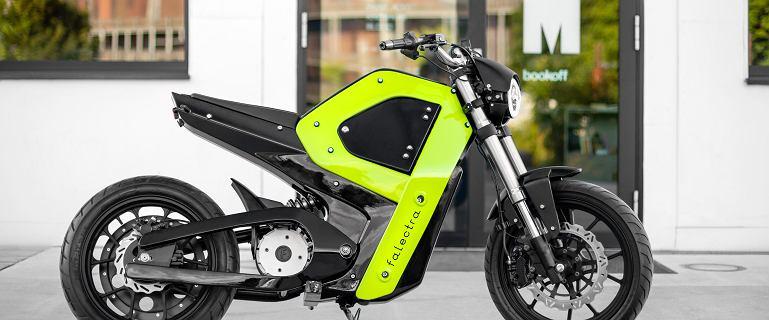 Oto Falectra, pierwszy polski motocykl elektryczny