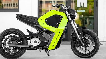 Pierwszy polski motocykl elektryczny marki Falecra
