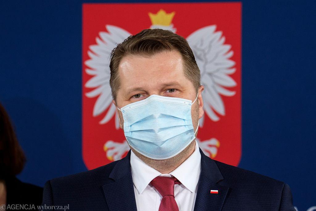 Minister edukacji w rządzie PiS Przemysław Czarnek. Rzeszów, 14 maja 2021