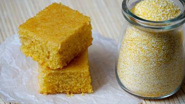 Ciasto z polentą (zganci)