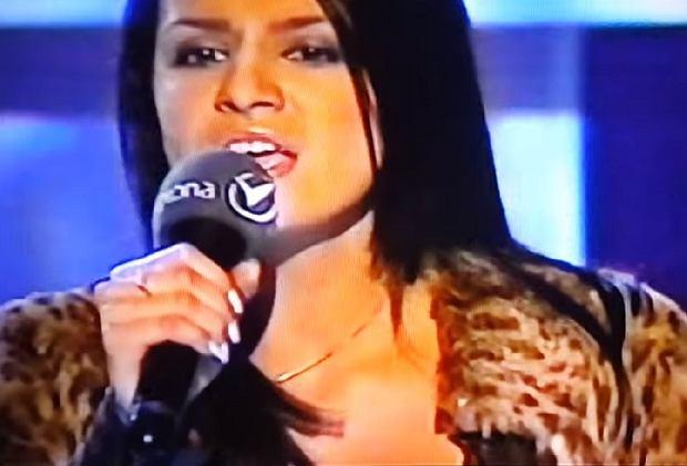 Sara Boruc w Idolu w 2002 roku