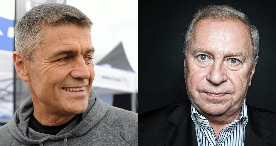 fot. Krzysztof Hołowczyc i Jerzy Stuhr