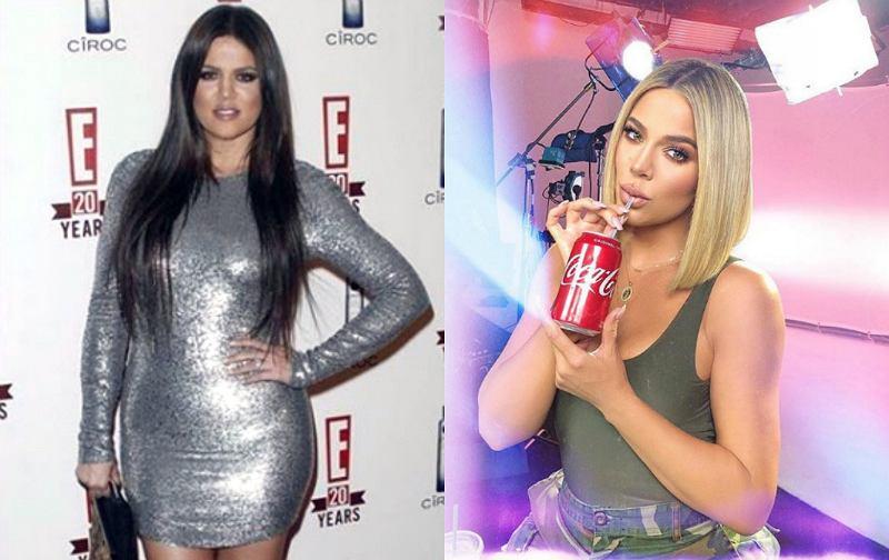 Nazywana była najbrzydszą z Kardashianek. Po ciąży Khloe Kardashian zmieniła się diametralnie