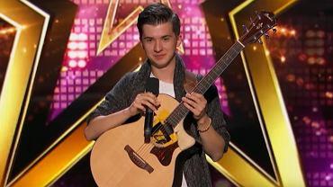 Marcin Patrzałek w 'America's Got Talent'