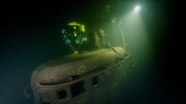 Radzieckie okręty podwodne na dnie Bałtyku - SCH-406