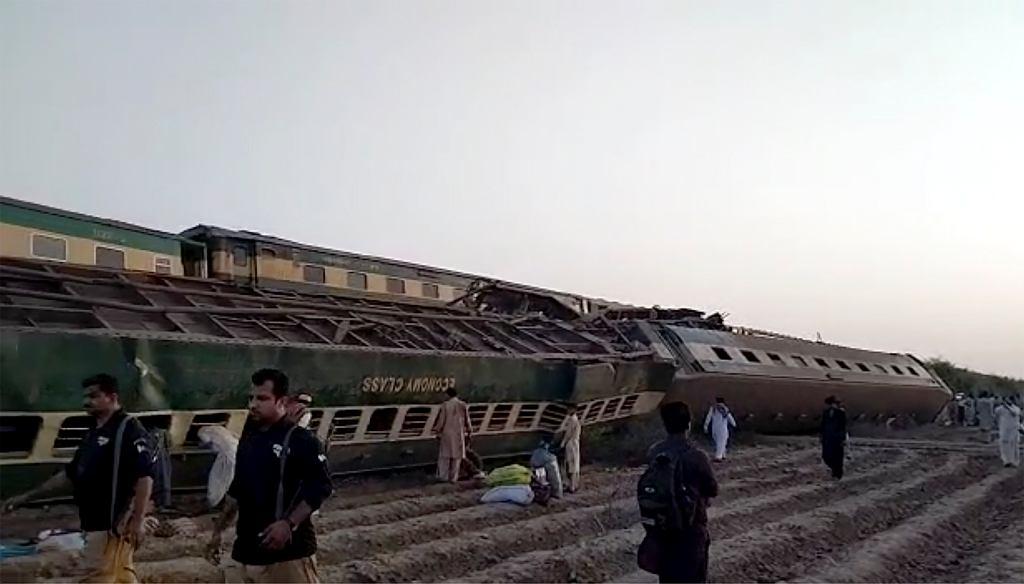 Pakistan. Wiele ofiar wypadku kolejowego