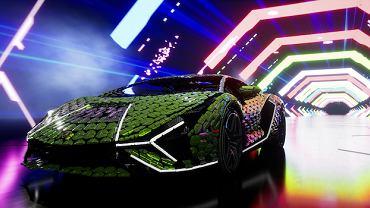 Lamborghini Sian z klocków LEGO w skali 1:1