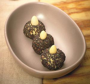 Ziemniaczane kulki sezamowe