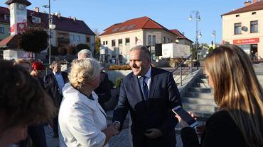 Spotkanie Grzegorza Schetyny z mieszkańcami Trzebini