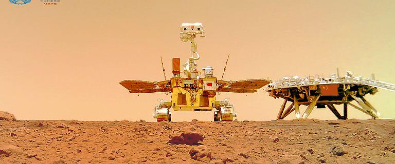 Chiny zrobiły zdjęcie łazikowi z powierzchni Marsa. I nie jest to selfie