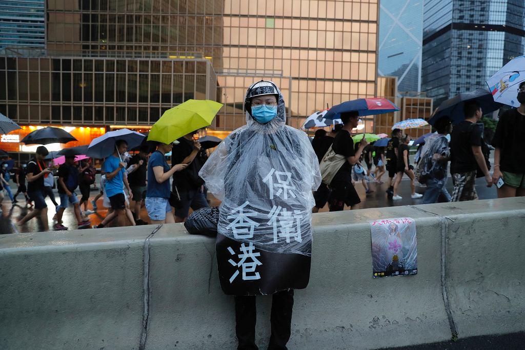 Kolejny tydzień protestów w Hongkongu. Według organizatorów w manifestacjach wzięło udział 1,7 mln osób