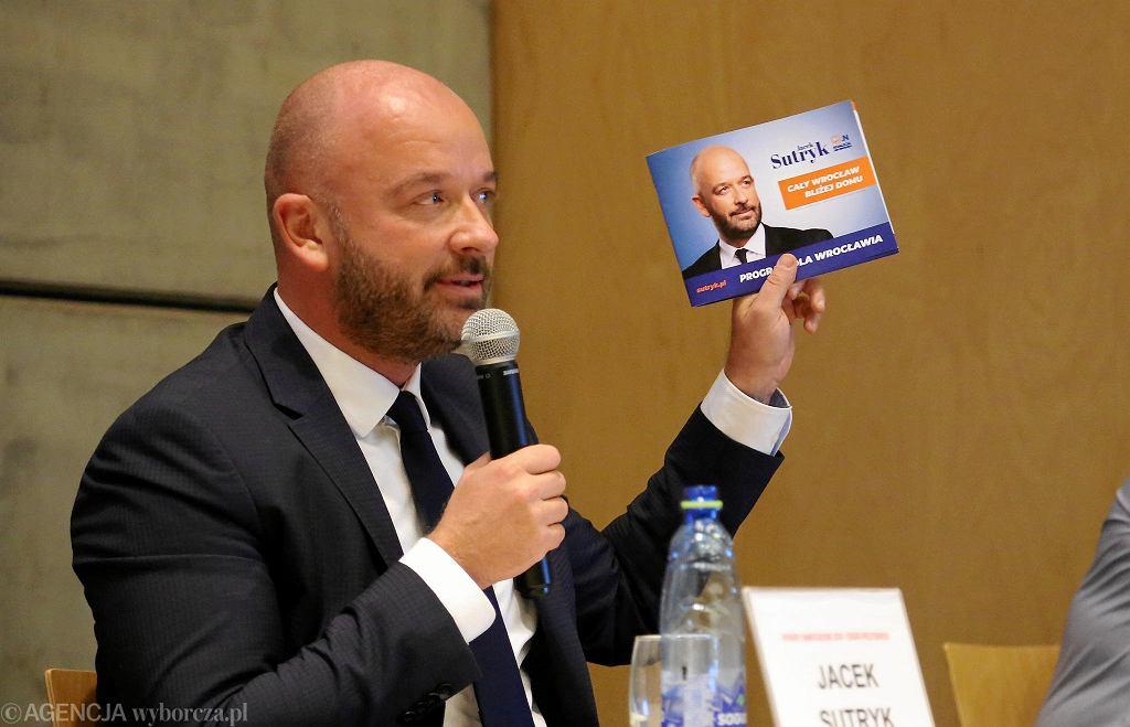 Wybory samorządowe 2018. Debata prezydencka we Wrocławiu