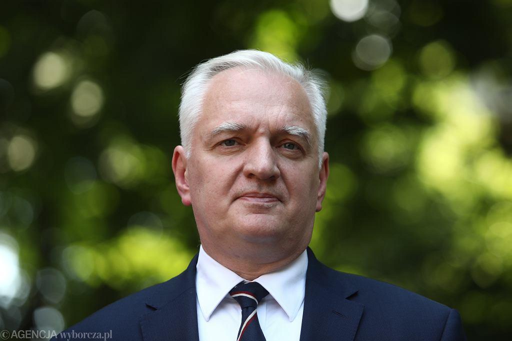 Lider Porozumienia Jarosław Gowin