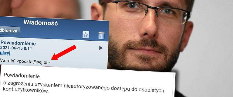 Tajne posiedzenie Sejmu. Hakerzy już to wykorzystali i znów zaatakowali