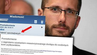 Radosław Fogiel ostrzega przed atakiem na cyberprzestępców