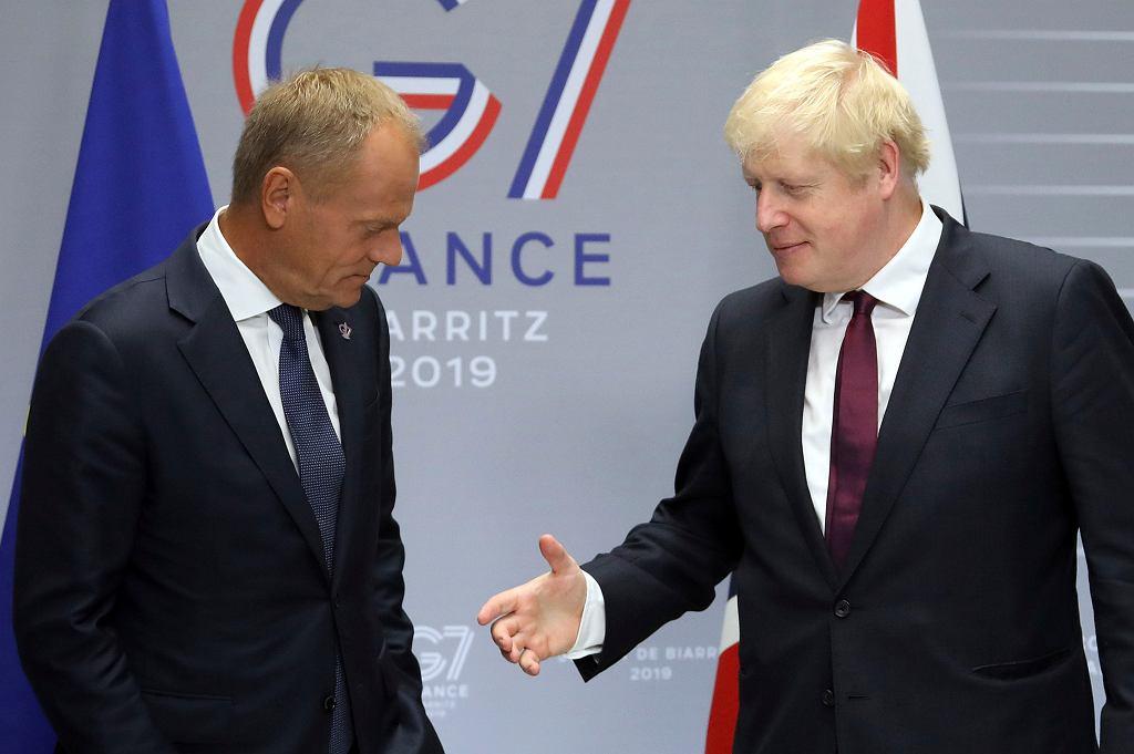 Brexit. Boris Johnson rozmawiał z Donaldem Tuskiem.