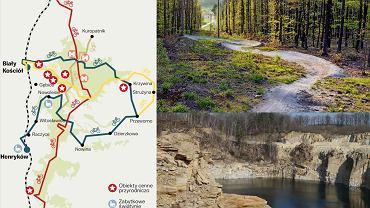 Trasy rowerowe w rejonie Strzelina