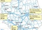 Zapchane nowe polskie drogi